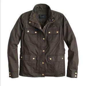 J. Crew Downtown Field Jacket, small